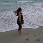 Dallis at a Moroccan Beach